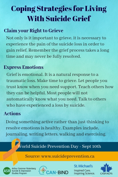 Coping Strategies for Living With Suicide Grief